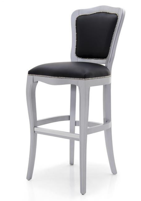 Argento Bespoke Upholstered Bar Stool MS0408B Custom Made-To-Order