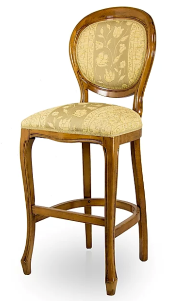 Cucchiaio Oval Back Bespoke Upholstered Bar Stool MF1011BS Custom Made-To-Order