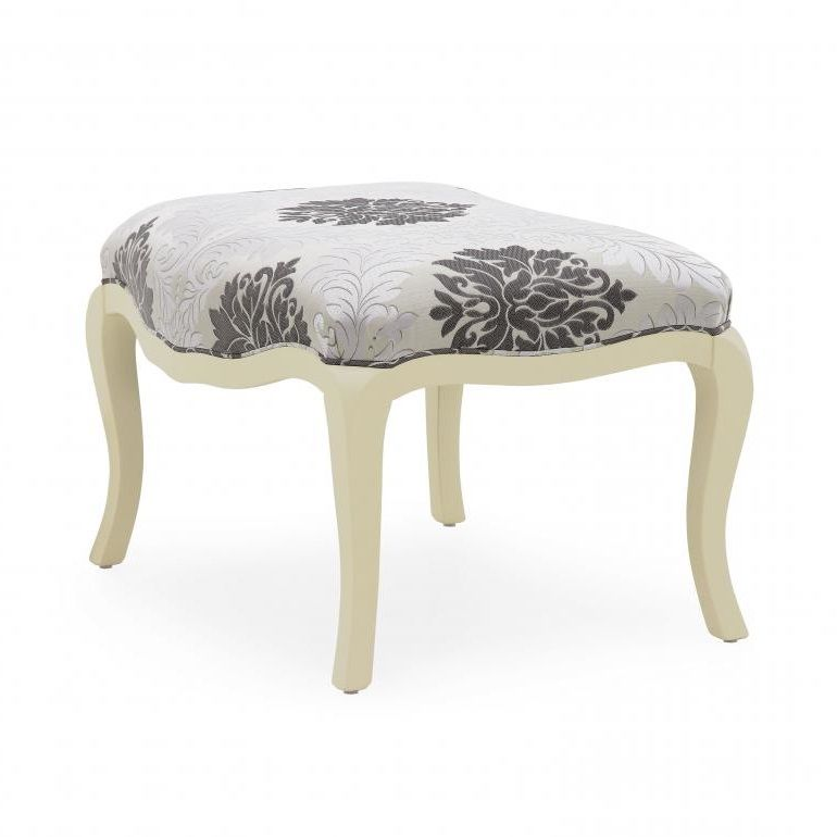 Formoso Bespoke Upholstered Ottoman Footstool MS0401O Custom Made-To-Order ottomans & chairs with footstools Millmax Interiors Furniture Sale UK