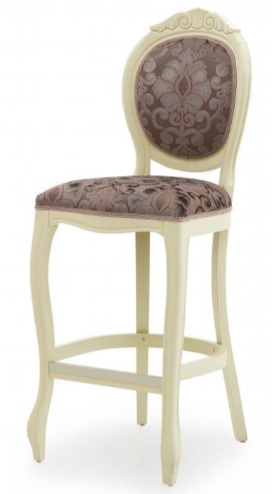 Francese Bespoke Upholstered Bar Stool MS0206B Custom Made-To-Order