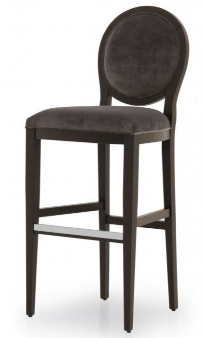 Indietro Bespoke Upholstered X Back Bar Stool MS0319B Custom Made-To-Order