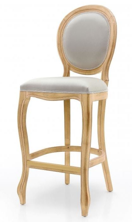 Liberte Bespoke Upholstered Bar Stool MS0205B Custom Made-To-Order