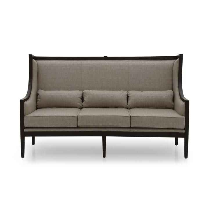 Moderno Three Seater Wingback Sofa MS9158E Made-To-Order Sofas From Millmax Interiors