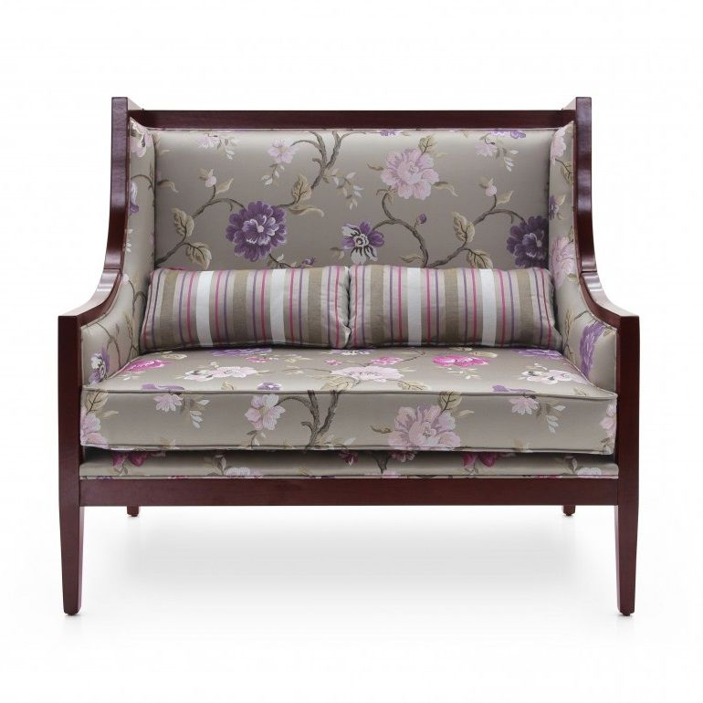 Moderno Two Seater Wingback Sofa MS9158D Made-To-Order
