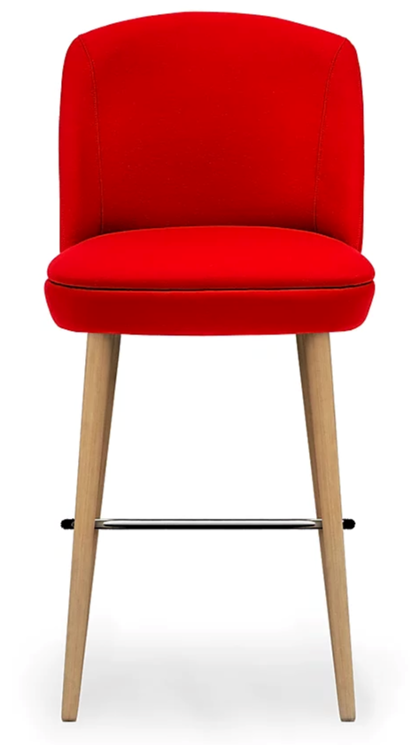 Nadia Bespoke Upholstered Bar Stool MF1004BS Custom Made-To-Order