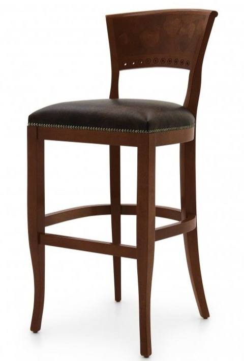Noce Bespoke Upholstered Bar Stool MS0283B Custom Made-To-Order